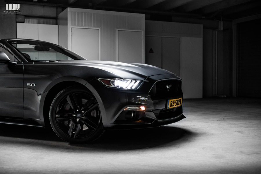 Ford Mustang cabrio huren