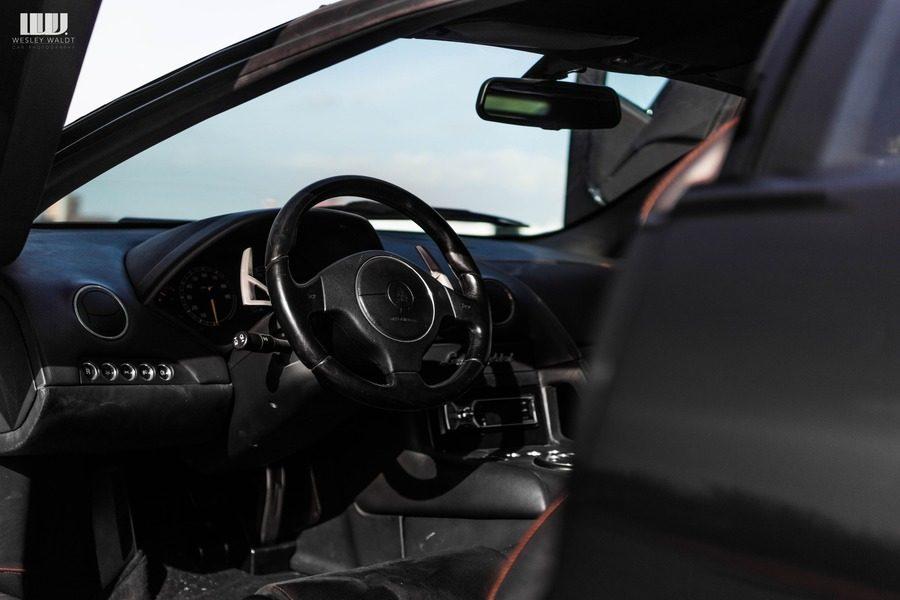 Lamborghini Murcielago interieur