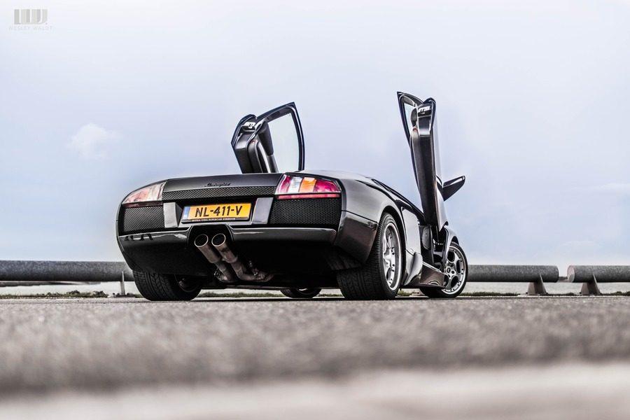 Lamborghini murcielago uitlaat