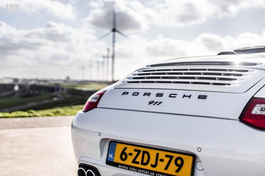 Porsche 911 cabrio huren