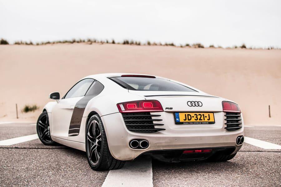 Audi R8 achterkant