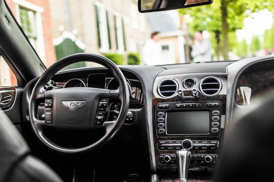 Inside bentley continental