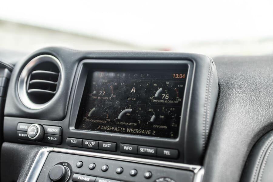 Nissan GTR inside