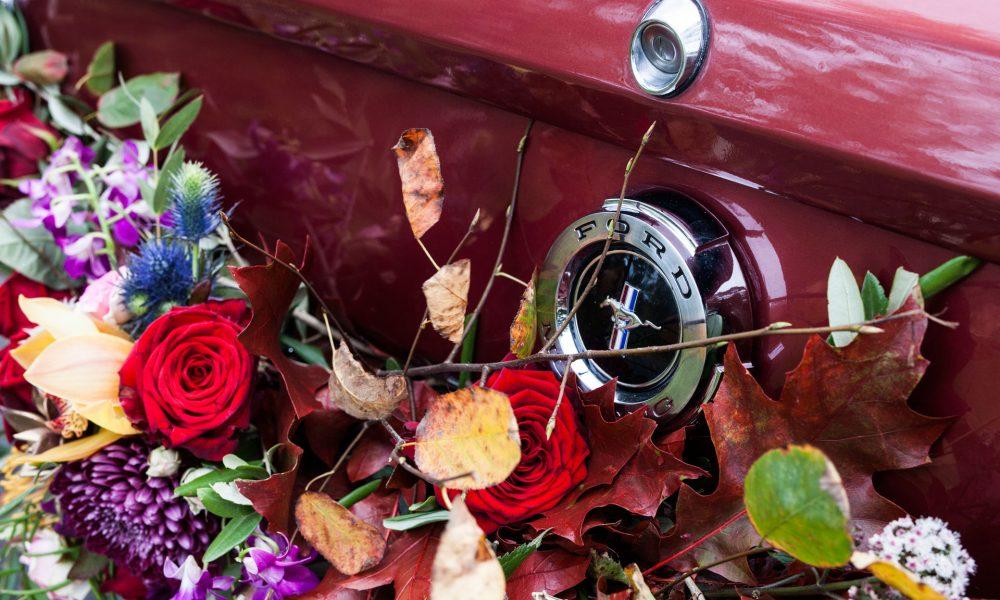 Ford mustang trouwauto huren