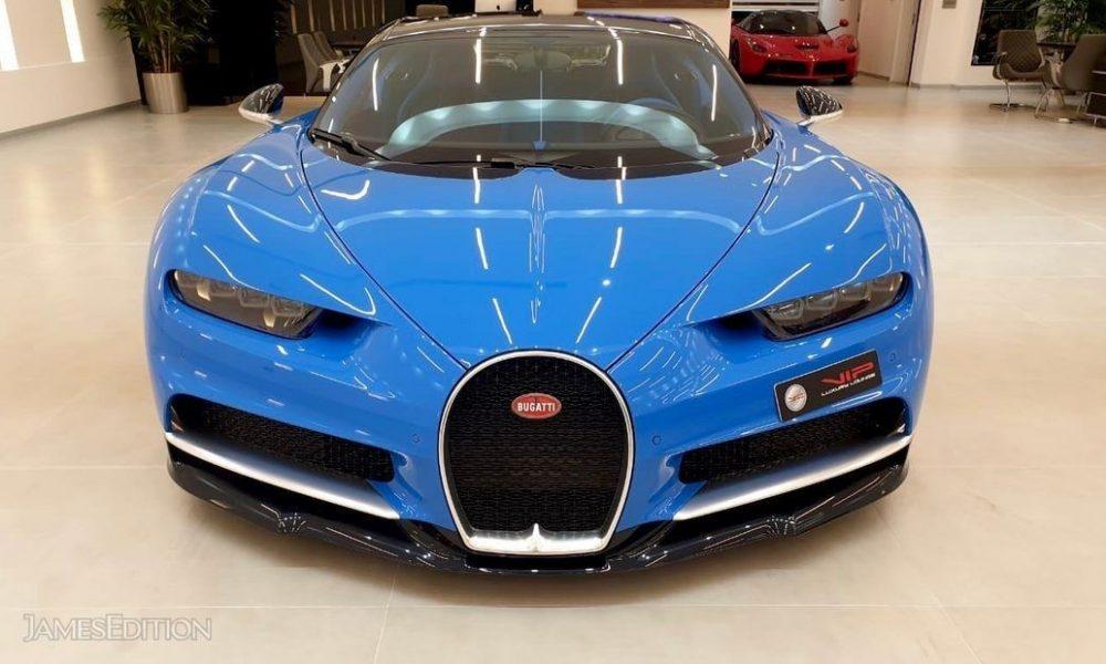 Bugatti Chiron huren