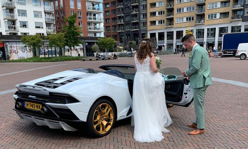 Lamborghini trouwauto huren