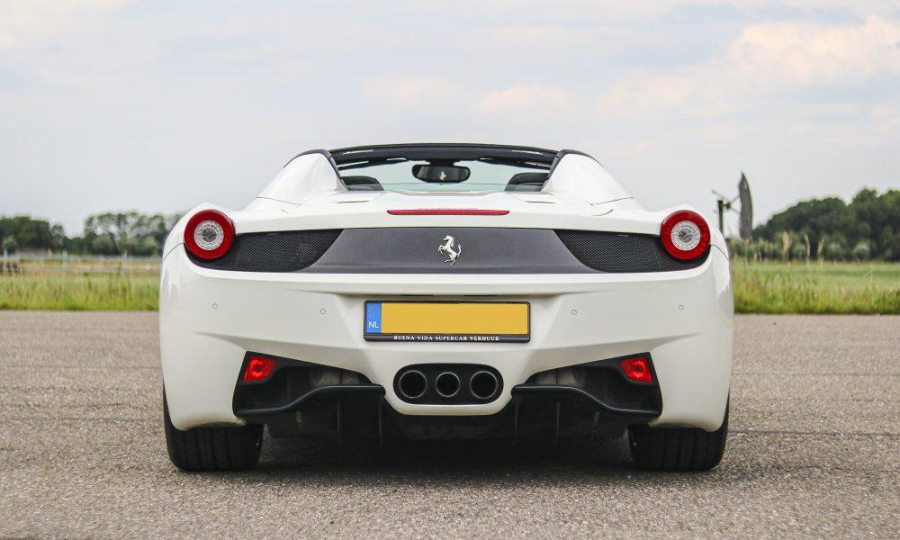 Ferrari 458 spider huren