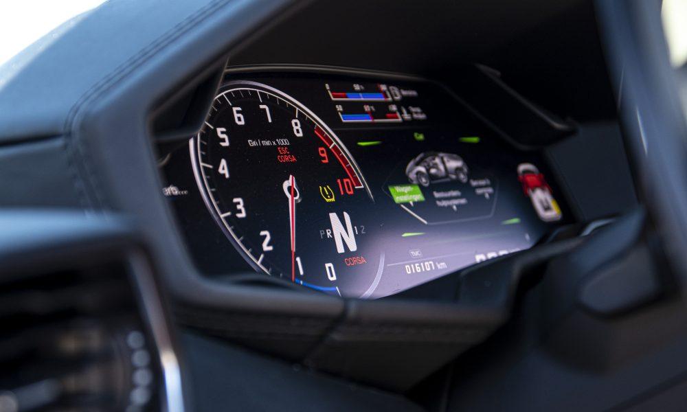 Lamborghini huracan LP610-4 spyder Dashboardhuren