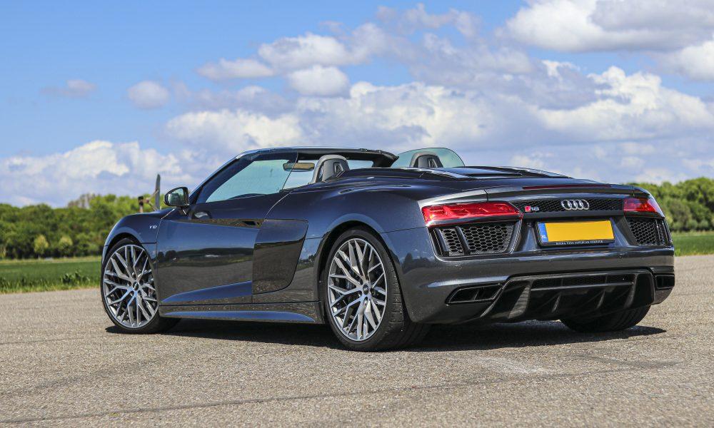 Audi R8 V10 spyder huren