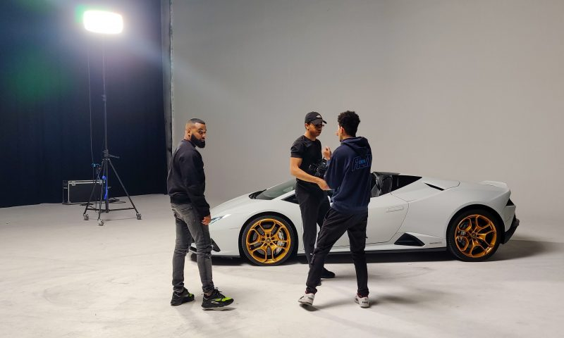 Videoclip behind the scene