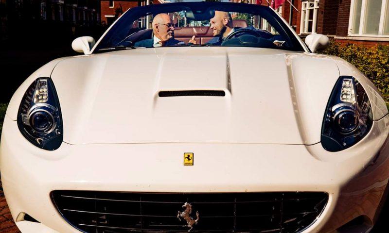 Ferrari Trouwauto huren