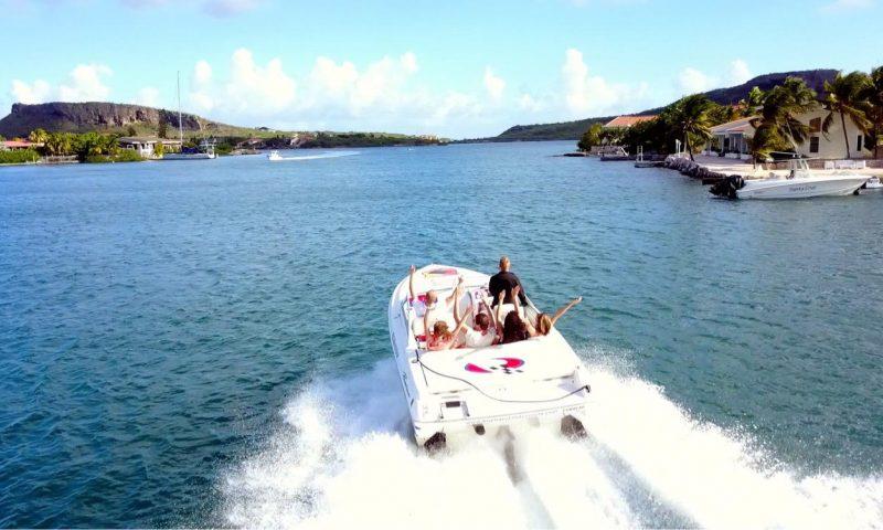 Powerboat huren Curaçao