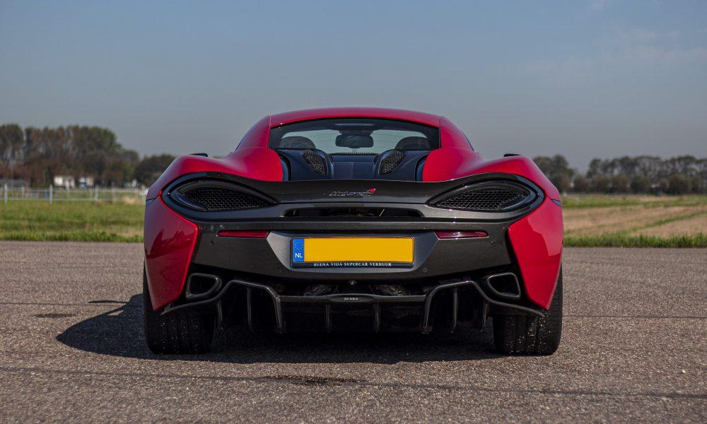 McLaren 570S uitlaat huren