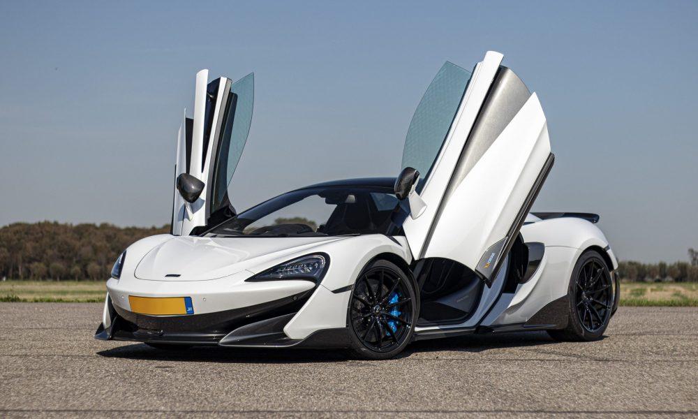 McLaren 600lt spyder deuren huren