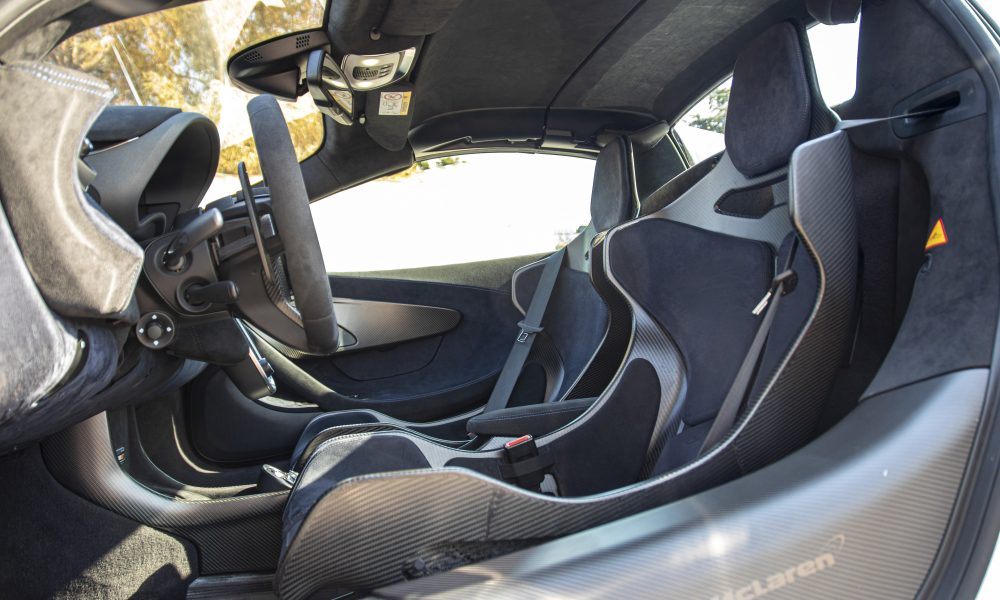 McLaren 600lt interieur huren