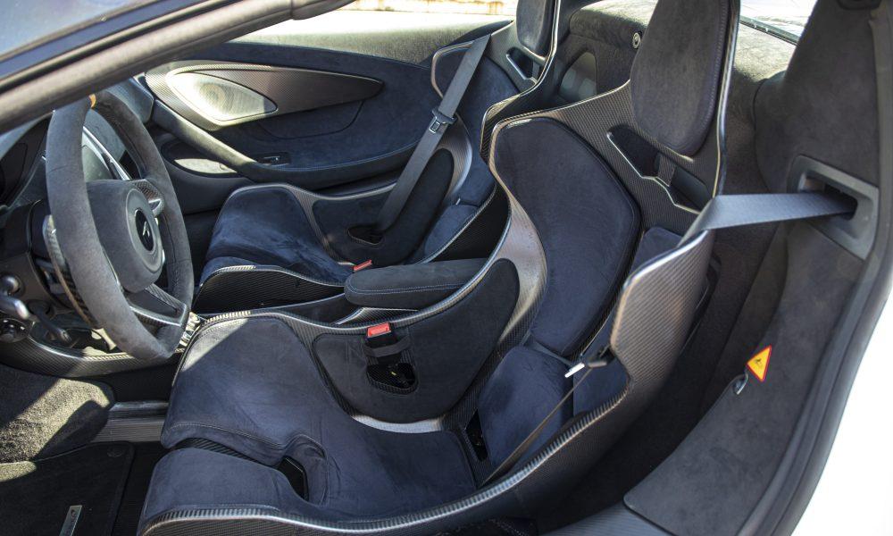 McLaren 600lt stoelen huren