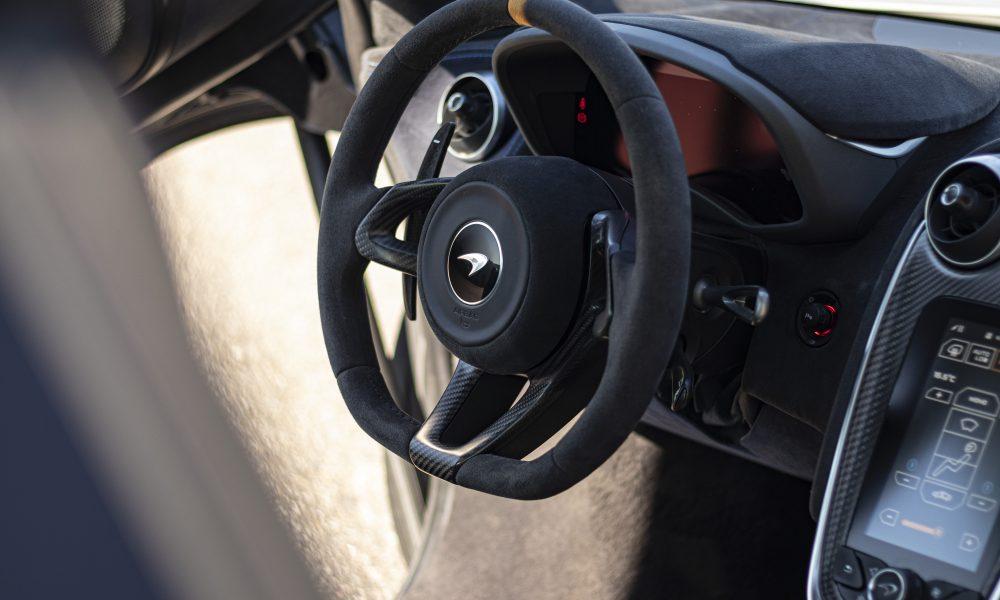 McLaren 600lt stuur huren