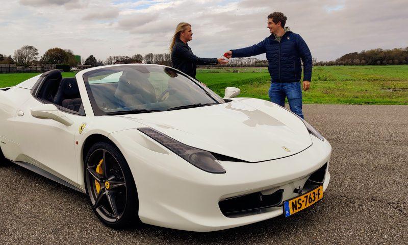 Ferrari 458 rijden